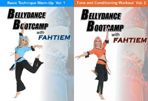 Bellydance Boot Camp with Fahtiem, 1 and 2